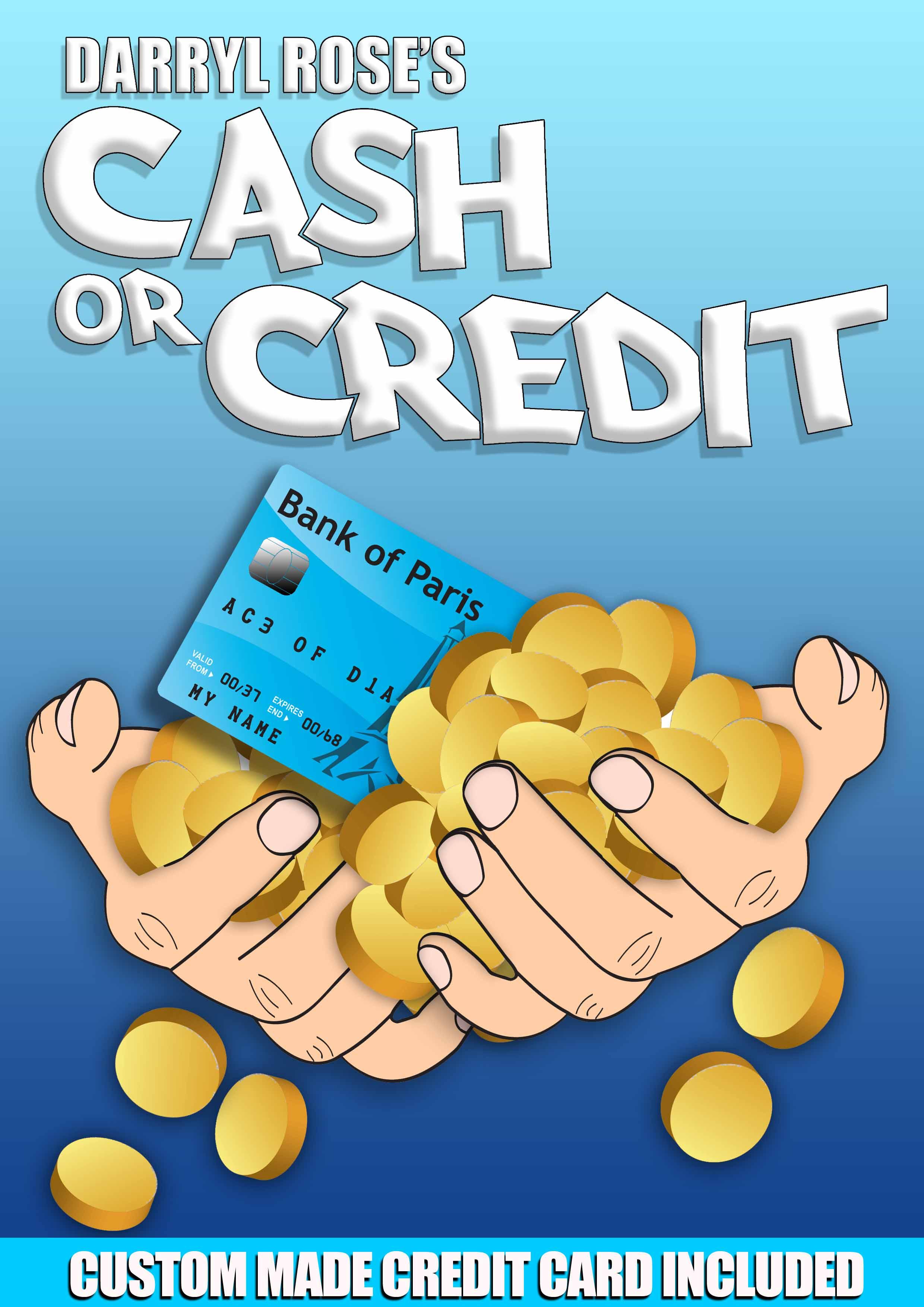 Cash or Credit magic trick